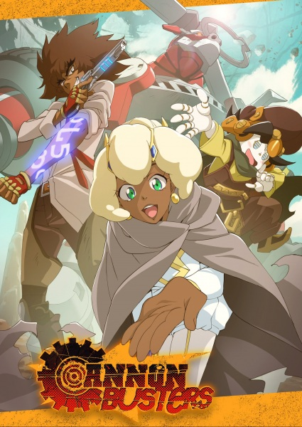 Cannon Busters Sub Indo Episode 01-12 End