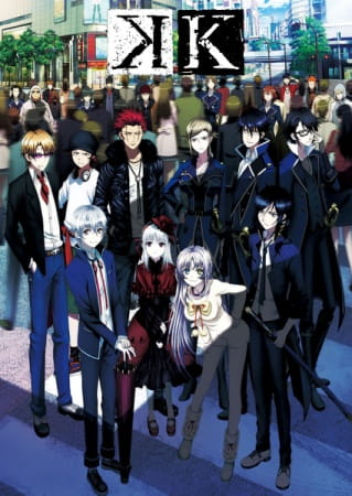 K - Project Sub Indo Episode 01-13 End BD