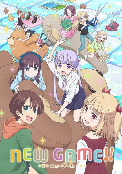 New Game S2 Sub Indo Episode 01-12 End BD