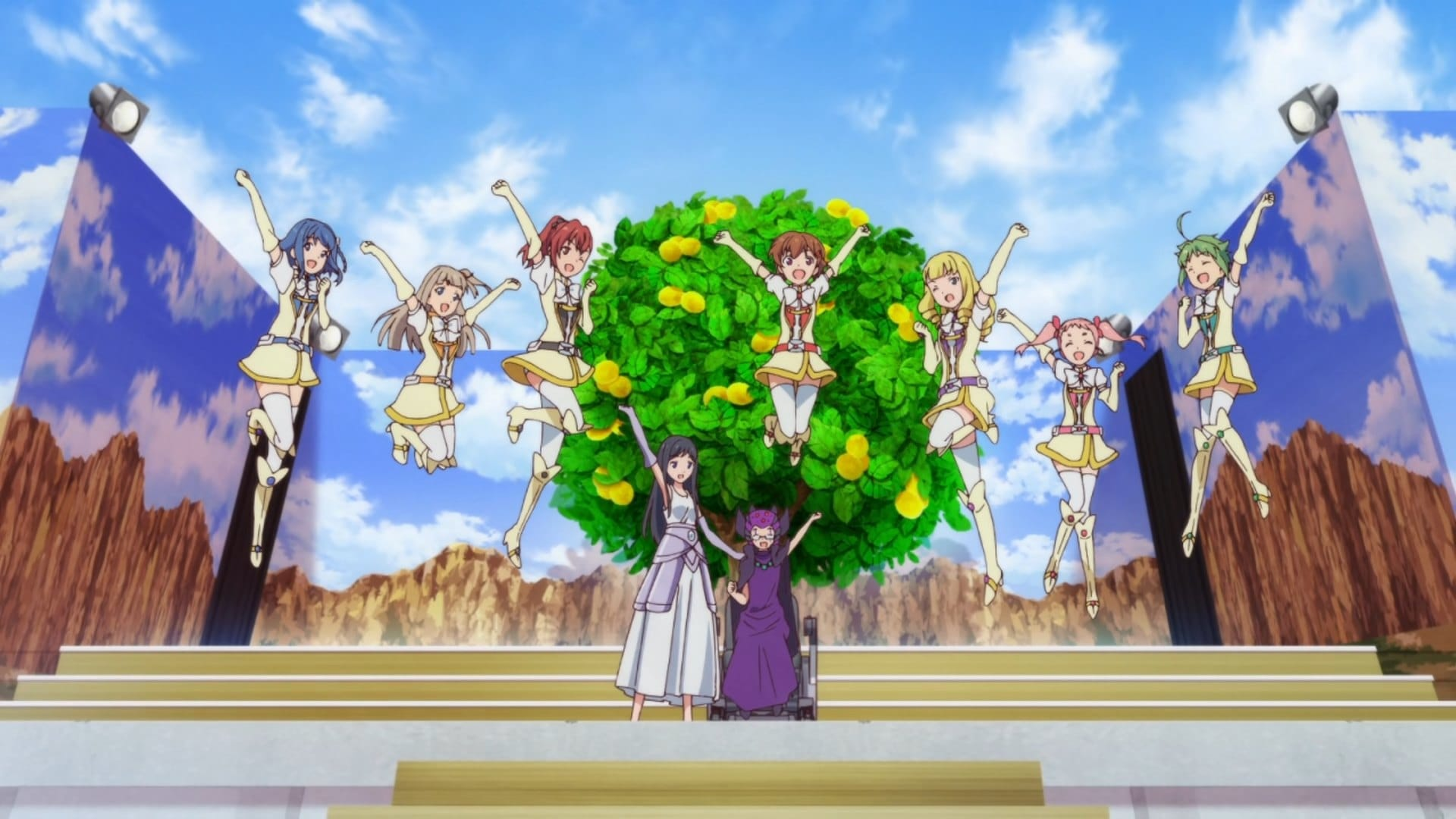 Action Heroine Cheer Fruits Sub Indo Episode 01-12 End