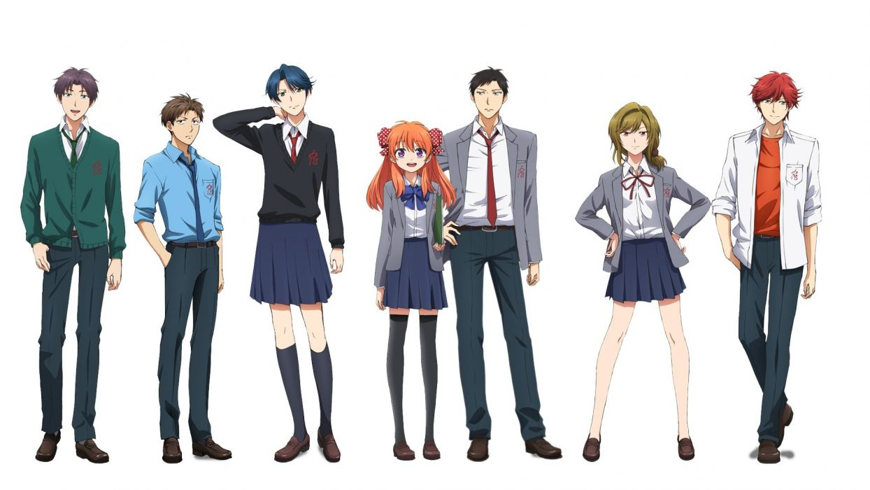 Gekkan Shoujo Nozaki-kun Sub Indo Episode 01-12 End BD