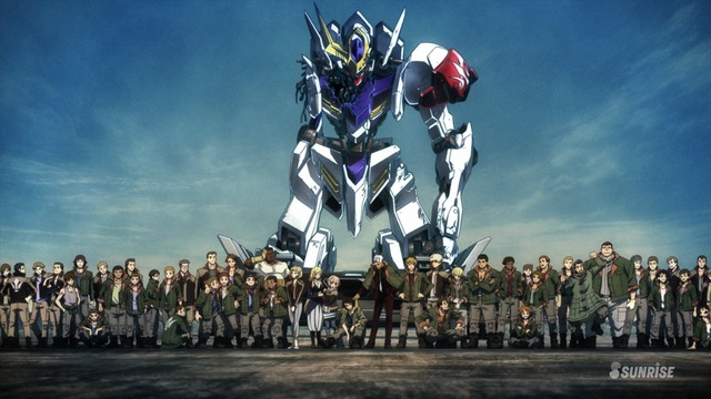 Mobile Suit Gundam: Iron-Blooded Orphans Sub Indo Episode 01-25 End BD
