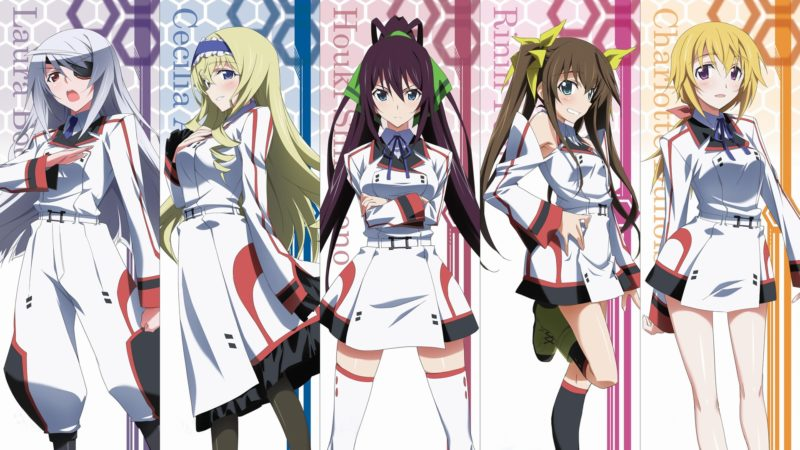 Infinite Stratos S1 Sub Indo Episode 01-12 End + OVA BD