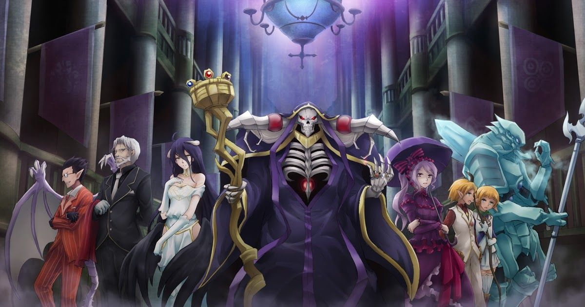 Overlord S1 Sub Indo Episode 01-13 End BD