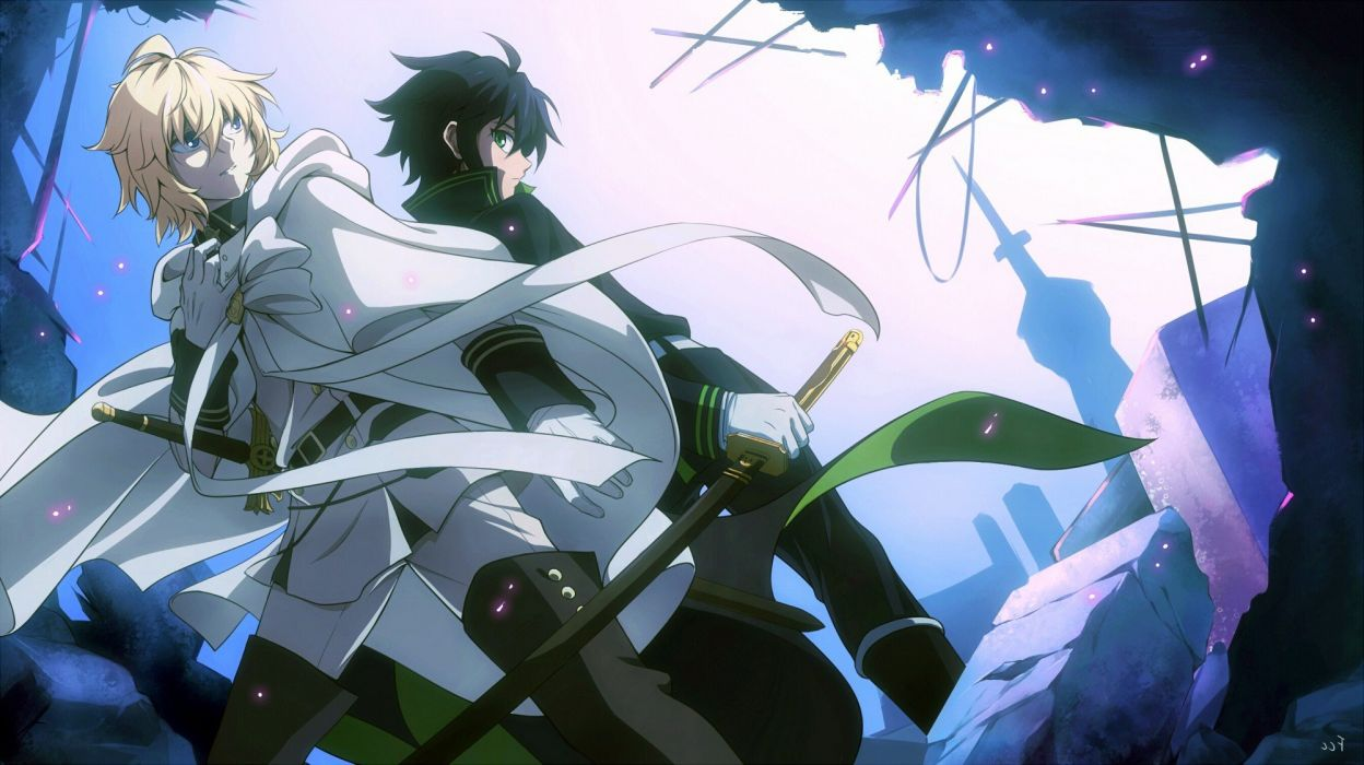 Owari no Seraph S1 Sub Indo Episode 01-12 End + OVA BD