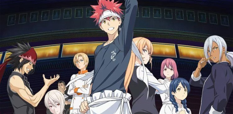 Shokugeki no Souma S3 2nd Cour Sub Indo Episode 01-12 End BD