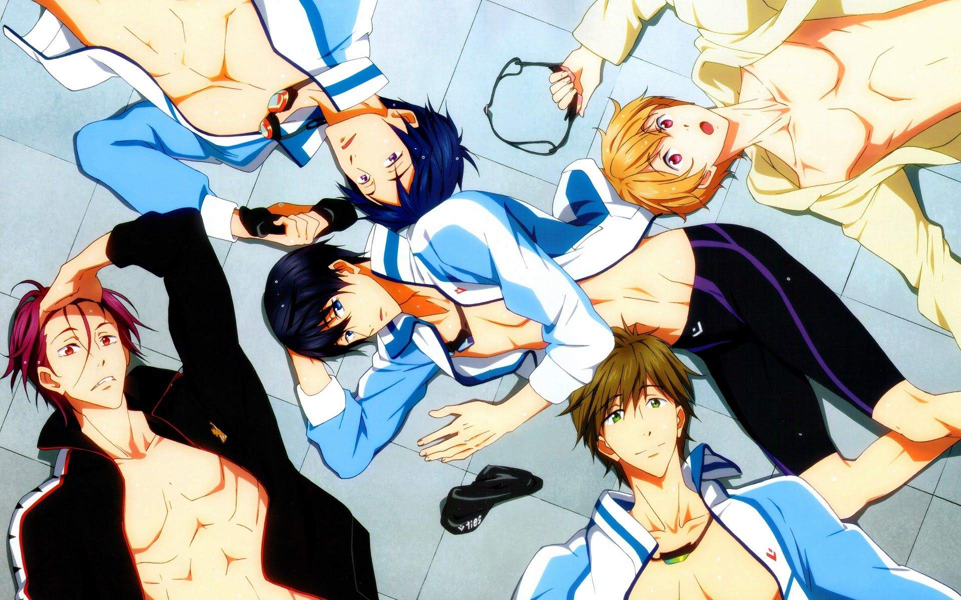 Free! S3: Dive to the Future Sub Indo Episode 01-12 End BD