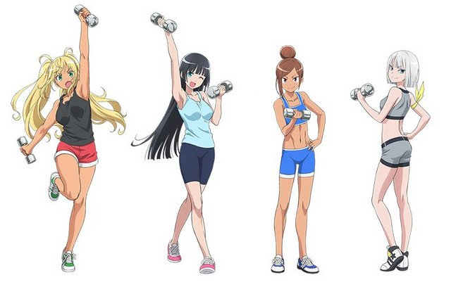 Dumbbell Nan Kilo Moteru? Sub Indo Episode 01-12 End BD