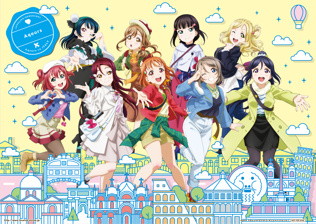 Love Live! Sunshine!! The School Idol Movie: Over the Rainbow Sub Indo BD