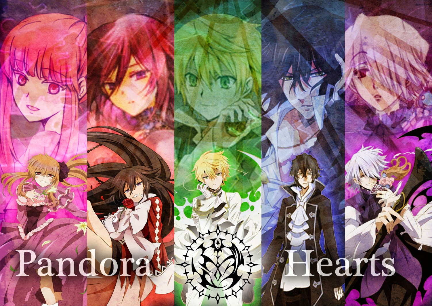 Pandora Hearts Sub Indo Episode 01-25 End BD